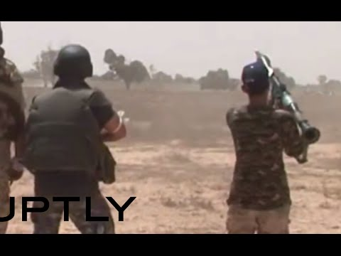 Libya combat action footage: Fighting ISIS in Sirte