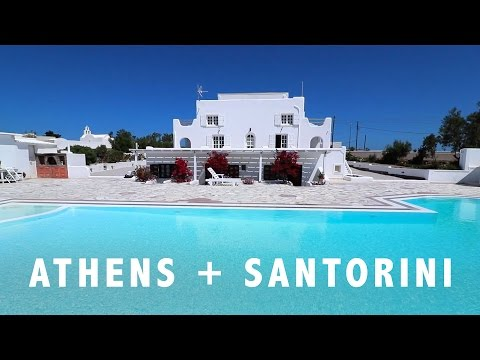 GREECE   Athens and Santorini 2016!