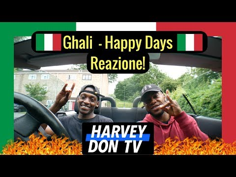 Ghali - Happy Days (Prod. Charlie Charles) Freestyle and Reazione