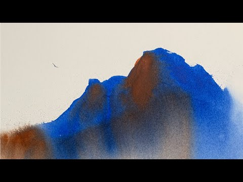 Easy Watercolour Landscape   Tutorial 6