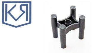 Фиксатор арматуры табуретка 25x40(Фиксатор-табуретка 25х40 применяется для укладки арматурных хлыстов диаметром до 26 мм. Обеспечивает толщину..., 2015-11-10T08:33:39.000Z)