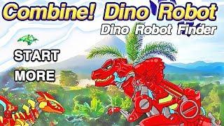 Dino Robot Finder + Dino Robot Jigsaw Puzzle   Eftsei Gaming