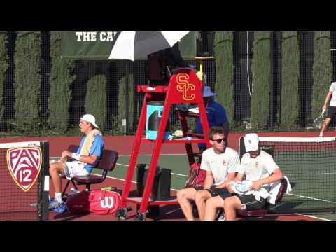 03 08 2017 Holt (USC) Vs Redlicki (UCLA) #1 men's singles