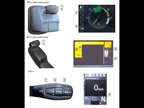 (Actros Transmission Teach in (MP1-MP2-MP3-MP4