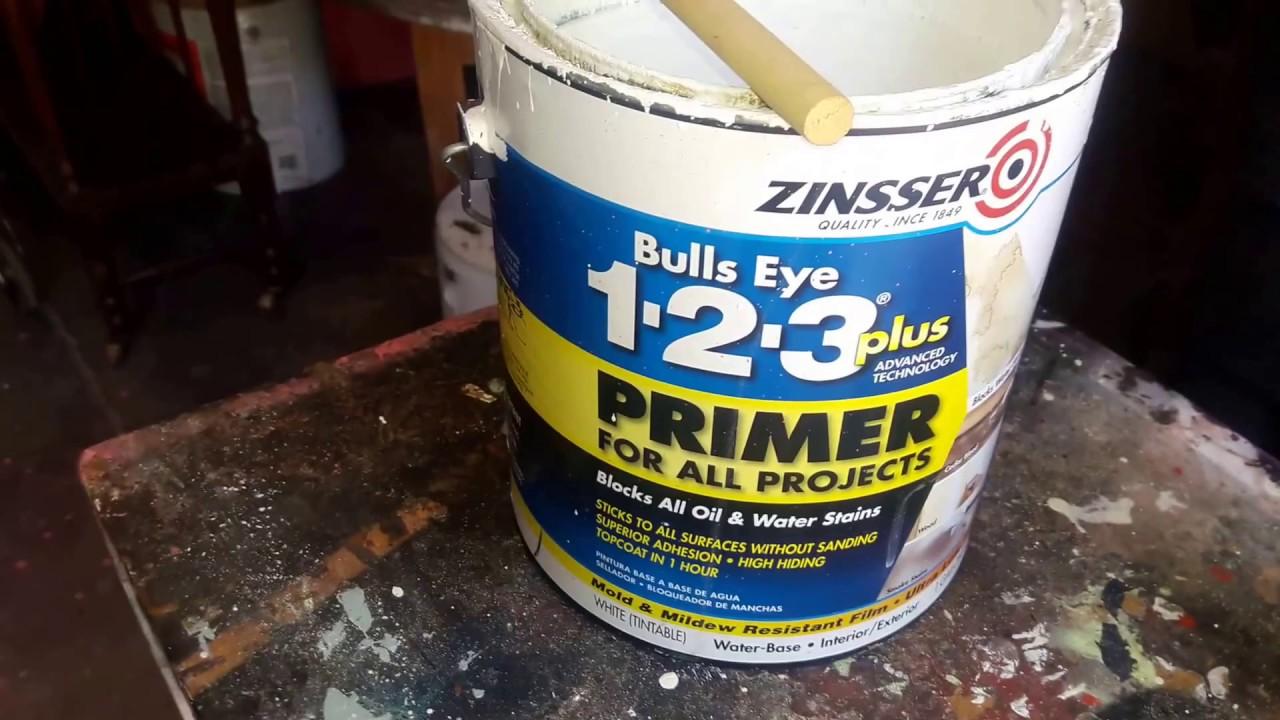 Zinsser Bulls Eye 123 Plus Primer Review