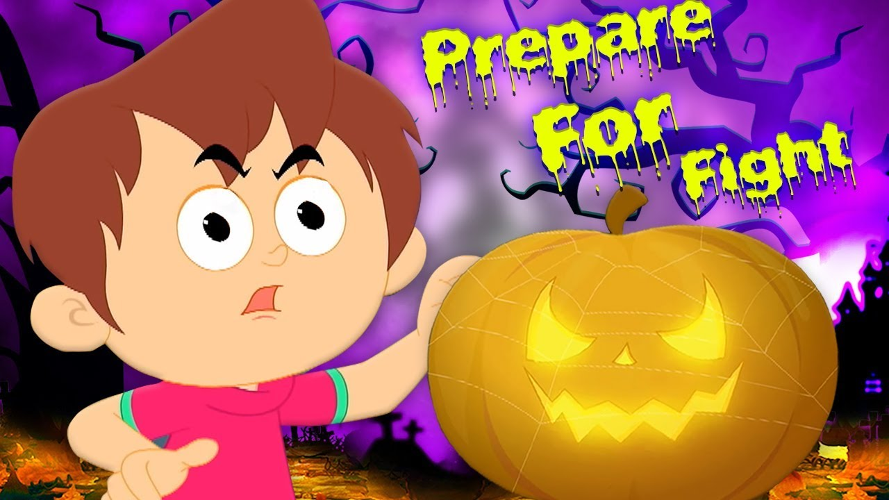 Persiapan Untuk ketakutan | halloween labu | lagu halloween | Prepare For Fright | Kids Tv Indonesia