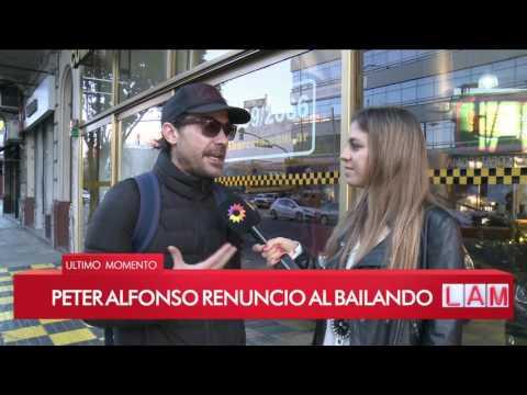 ¡Pedro Alfonso renunció a Bailando 2017! ¿Flor Vigna seguirá bailando?