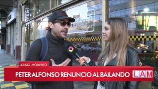 ¡Pedro Alfonso renunció a Bailando 2017! ¿Flor Vigna seguirá en el certamen?