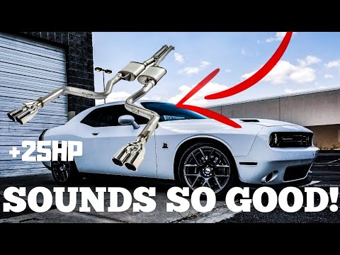 MAGNAFLOW PERFORMANCE EXHAUST FULL REVIEW DODGE CHALLENGER 392