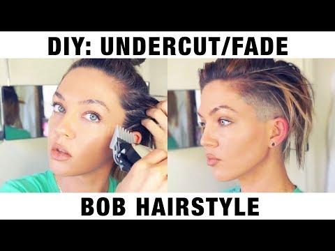 DIY: UNDERCUT/FADE BOB HAIR STYLE