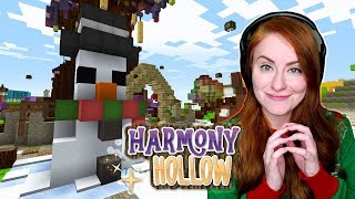 Christmas Build Battle with Scott! | Minecraft: Harmony Hollow S4 - Ep.25