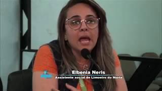 Albenia Neris em discussão sobre coleta seletiva e dos resíduos sólidos na Câmara de Quixeré