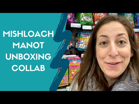 Mishloach Manot Unboxing Collab / Shopping For Purim Kosher Treats