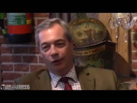 Nigel Farage take on The World Government Agenda! [NWO Tyranny]