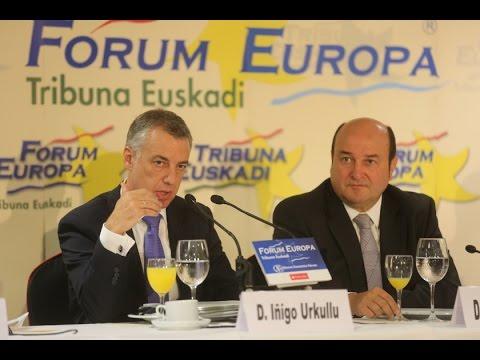 Iñigo Urkullu en Foro nueva economía