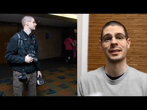 Dual Nikon DSLRs With Lens & Flash | Anime Convention Photography Talk