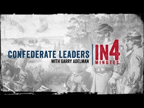 The Civil War in Four Minutes: Confederate Leaders