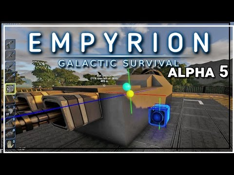 ★ Empyrion Galactic Survival alpha 5 gameplay - Building a small vessel - Part 10 - Empyrion alpha 5