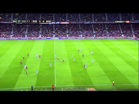 26/01/2014 Fc Barcelona-Malaga CF HD Primera Parte La liga (MediaPro)
