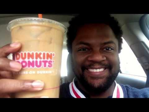 Dunkin Donuts Vanilla Cupcake Iced Coffee Taste Test