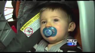 Robber Pepper Sprays Baby