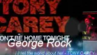 TONY CAREY - i´ll tell the world about her