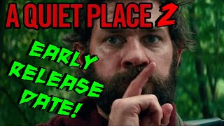 A QUIET PLACE 2 (2021) RELEASE DATE BUMPED UP! (YAY!)