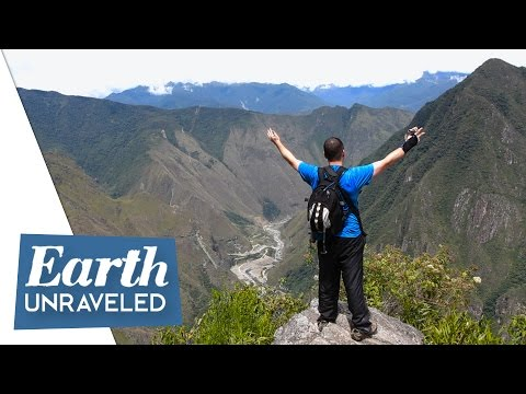 ⛰Climbing Machu Picchu Mountain, Peru - Hiking the Inca Trail to the top @ 3082m 🇵🇪