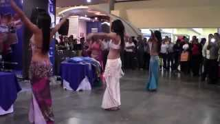 ZAMIRA´S BELLY DANCERS, construexpo 2014, drum solo