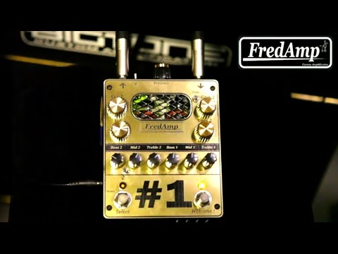 Fredamp Custom #1 Preamp