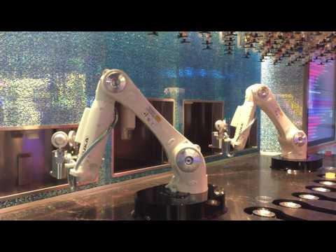Tipsy Robot Bartenders at Miracle Mile Shops, Las Vegas