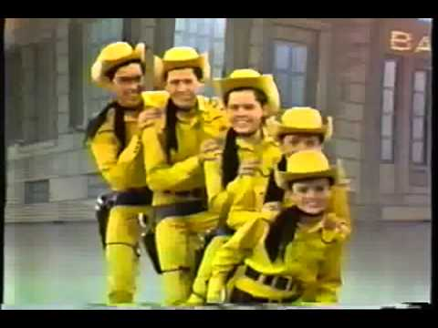 The Osmond Brothers -  I've Got Spurs and Tumbling Tumbleweeds  (Andy Williams Show)