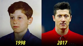 Robert lewandowski - transformation from 1 to 29 years old
