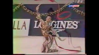 Alina KABAEVA (RUS) ribbon - 2000 Europeans Zaragoza EF