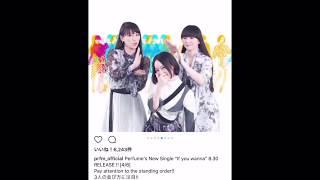 Perfume ニューシングル「If you wanna」発売記念スペシャルメッセージ 00:01 We are Perfume 00:21 three (with Lyrics) 00:33 NOCCHi (with Lyrics) 00:43 ...