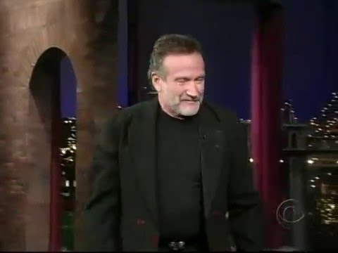 Late Show with David Letterman - Robin Williams