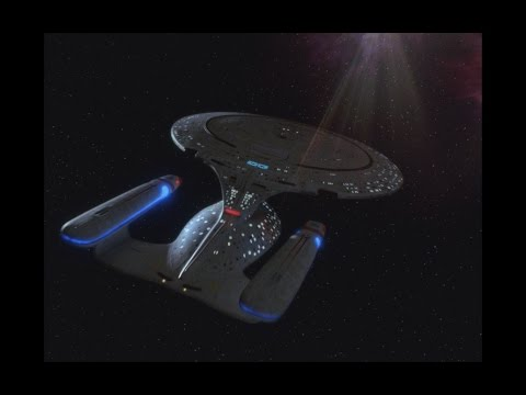 Star Trek: The Next Generation All Good Things Final Scene (BLUERAY HD)