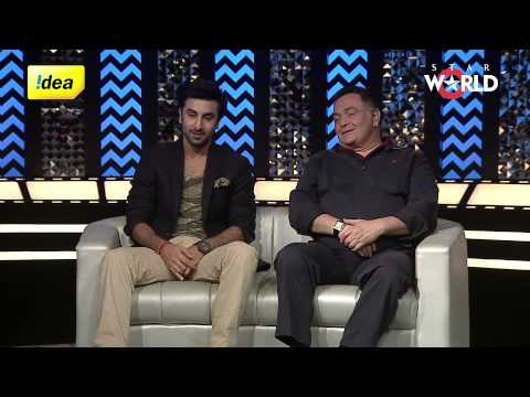 Meet the star cast of  'Besharam' - Ranbir & Rishi Kapoor.