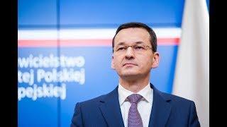 Mateusz Morawiecki podczas konferencji po nieformalnym spotkaniu szefów państw i rządów UE thumbnail