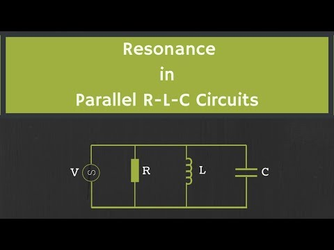 Resonance in Parallel RLC Circuit Explained