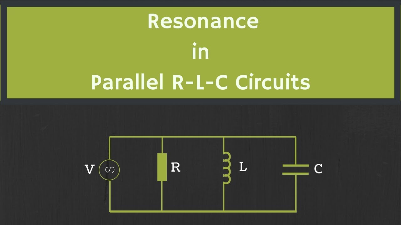 resonance in parallel rlc circuit explained youtube rh youtube com