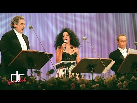 Diana Ross with Placido Domingo and Jose Carreras - Movie Medley (Osaka 1997)