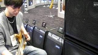 Warwick NAMM 2012 Corvette Short Scale demo-Mike Zabrin