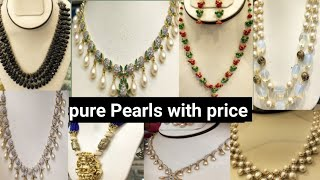 Pearls sets with price