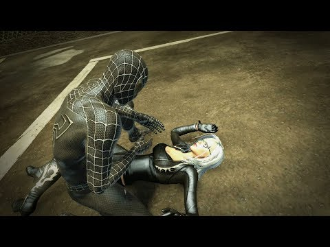 The Amazing Spider-Man (PS3)(Classic Black Suit Walkthrough) - Part 7 - Black Cat [60fps]