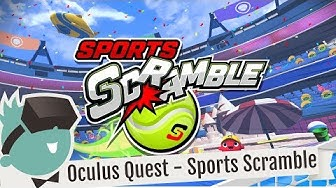 Sports Scramble mit Oculus Quest