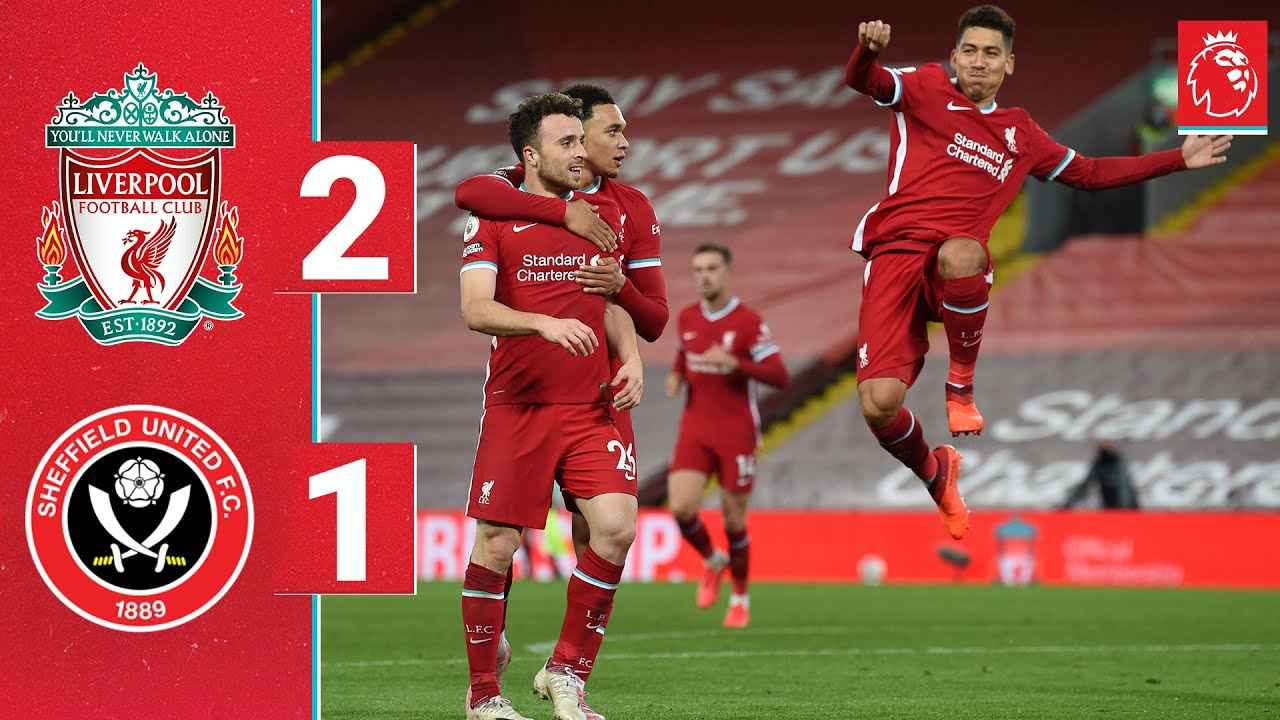 Download Highlights: Liverpool 2-1 Sheff Utd | Firmino and Jota seal comeback at Anfield