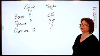 5 класс// МАТЕМАТИКА // Решение задач на проценты