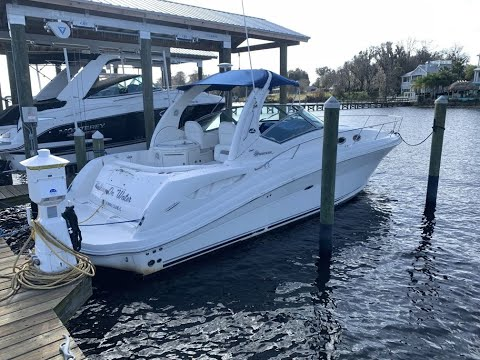 2006 Sea Ray Sundancer Express Style Cruising Cabin Boat for Sale Jacksonville Florida