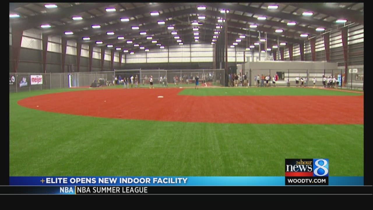Elite Opens New Indoor Facility Youtube
